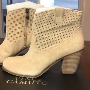 Vince Camuto suede ankle boots!